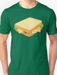 Sandwich Flat Vector Design Unisex T-Shirt