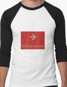 Six Zeros Men's Baseball ¾ T-Shirt