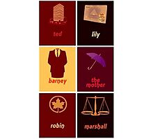 HIMYM Photographic Print