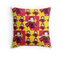 Lively Lizzie Blocks  Throw Pillow