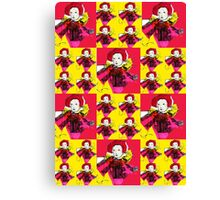 Lively Lizzie Blocks  Canvas Print
