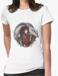 Spirited Away  Womens Fitted T-Shirt