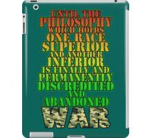WAR! iPad Case/Skin
