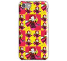 Lively Lizzie Blocks  iPhone Case/Skin