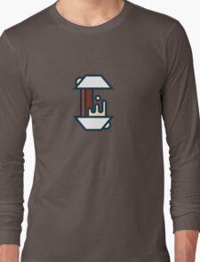Coffee Splash Long Sleeve T-Shirt