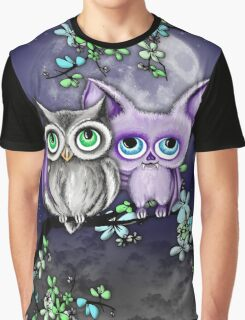 Two Hoots  Graphic T-Shirt