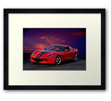 2015 Corvette Z51 Stingray I Framed Print
