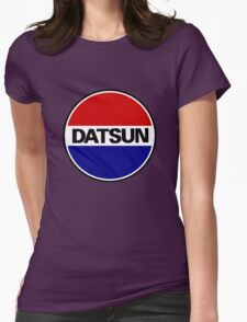 old datsun Womens Fitted T-Shirt
