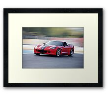 2015 Corvette Z51 Coupe Framed Print