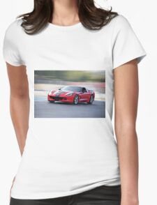 2015 Corvette Z51 Coupe Womens Fitted T-Shirt