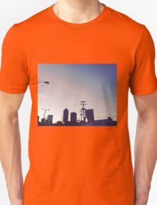 City skyline at dusk T-Shirt