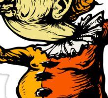 tangerine the clown Sticker