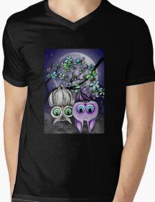 Night Life Mens V-Neck T-Shirt