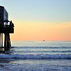 Far & Away...early morning fishing!  by Poete100