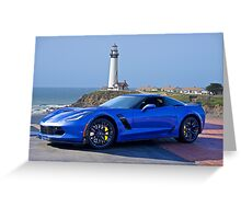 2016 Corvette Z06 Coupe Greeting Card