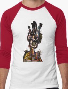 Basquiat African Skull Man Men's Baseball ¾ T-Shirt