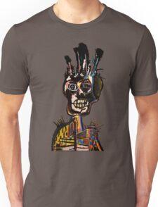 Basquiat African Skull Man Unisex T-Shirt