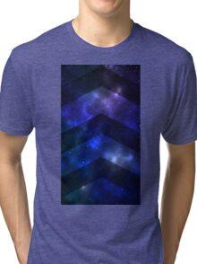 Space Chevrons Tri-blend T-Shirt