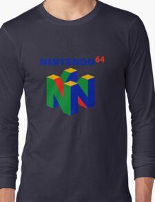 nintendo 64 old retro Long Sleeve T-Shirt