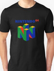 nintendo 64 old retro Unisex T-Shirt
