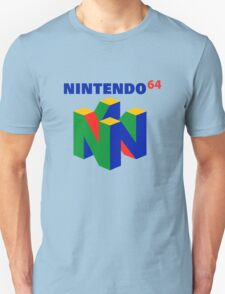 nintendo 64 old retro T-Shirt