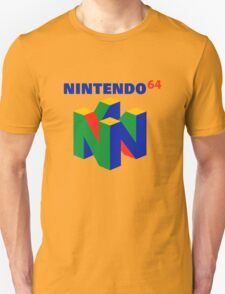 nintendo 64 old retro Unisex T-Shirt