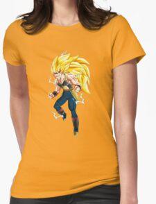 Super Saiyan 3 Bardock Womens Fitted T-Shirt