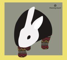 pattern rabbit Kids Tee