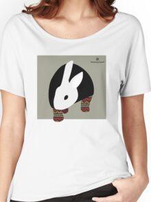 pattern rabbit Women's Relaxed Fit T-Shirt
