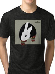 pattern rabbit Tri-blend T-Shirt