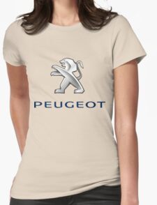 vintage peugeot Womens Fitted T-Shirt