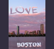 Love Boston Unisex T-Shirt