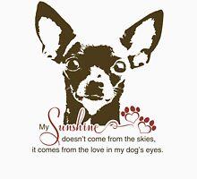 Chihuahua Dog My Sunshine Women's Fitted Scoop T-Shirt