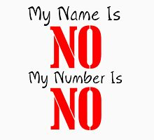 MY NAME IS NO DESIGN 2 Tank Top