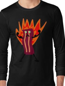 Bacon Man! Long Sleeve T-Shirt