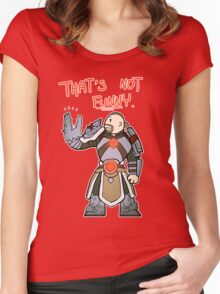 Smite - That's not funny (Chibi) Women's Fitted Scoop T-Shirt