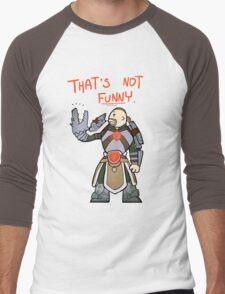 Smite - That's not funny (Chibi) Men's Baseball ¾ T-Shirt