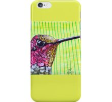 Anna's Hummingbird iPhone Case/Skin
