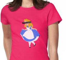 Curiouser & Curiouser Womens Fitted T-Shirt