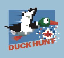 Duck Hunt Retro Cover Baby Tee