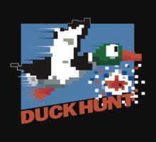 Duck Hunt Retro Cover Kids Tee