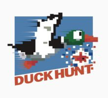 Duck Hunt Retro Cover One Piece - Short Sleeve