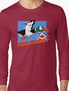 Duck Hunt Retro Cover Long Sleeve T-Shirt