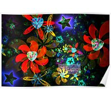 stars and hearts sphericals 2 Poster