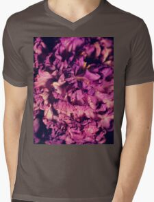 dry purple flower - 2nd Mens V-Neck T-Shirt