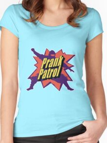Prank Patrol Women's Fitted Scoop T-Shirt