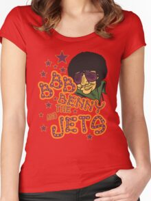 Benny Jet! Women's Fitted Scoop T-Shirt