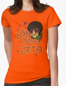 Benny Jet! Womens Fitted T-Shirt