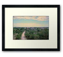 Everglades Overlook Framed Print