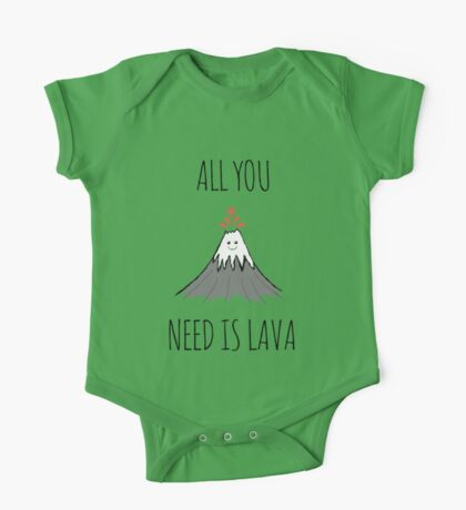 ALL YOU NEED IS LAVA ! One Piece - Short Sleeve